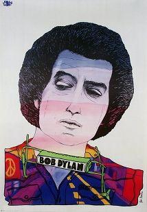 Bob Dylan, Polish Music Poster