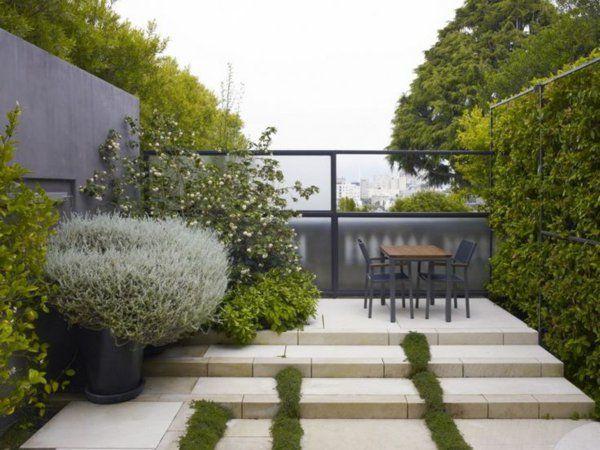 23 besten Gartenzäune und Blickschutzideen Bilder auf Pinterest - gartengestaltung modern sichtschutz