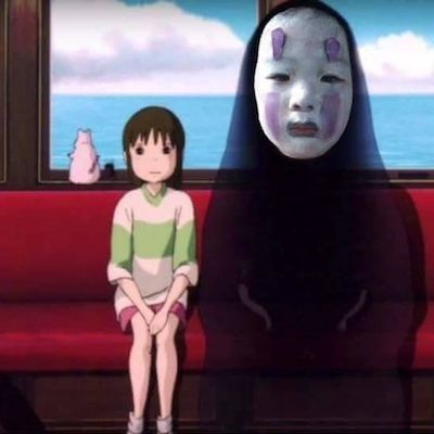 園児がハロウィンでカオナシの仮装に関連した画像-05