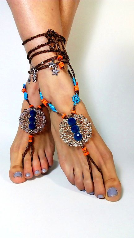 barefoot sandals, foot jewelry, Feet,Gypsy, Wedding Barefoot shoes, foot Jewelry, barefoot sandal, Hippie Sandals, body Jewelry, Toe Thong