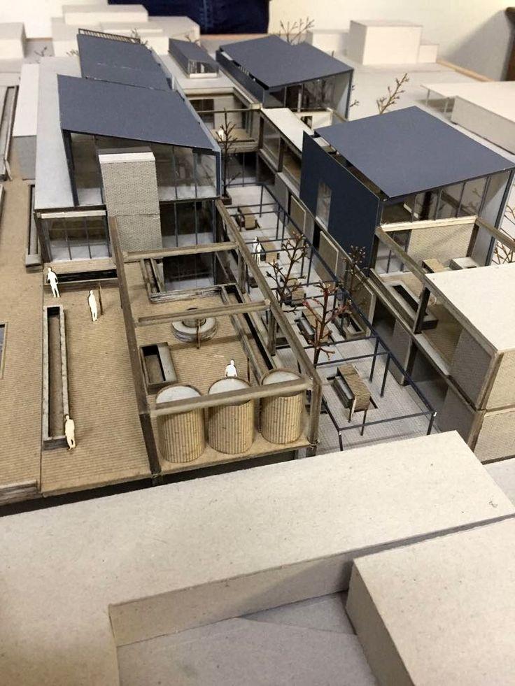 ArchitectureThesis, University of the Free State, Bloemfontein, Andre de Villiers: Culinary School, Restaurant and Street Food Market, Westdene, Bloemfontein