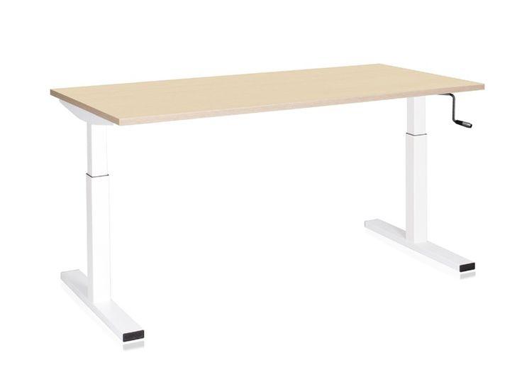 Hohenverstellbarer Schreibtisch Kurbel Emodel Hohenverstellbarer Schreibtisch Schreibtisch Design Schreibtisch