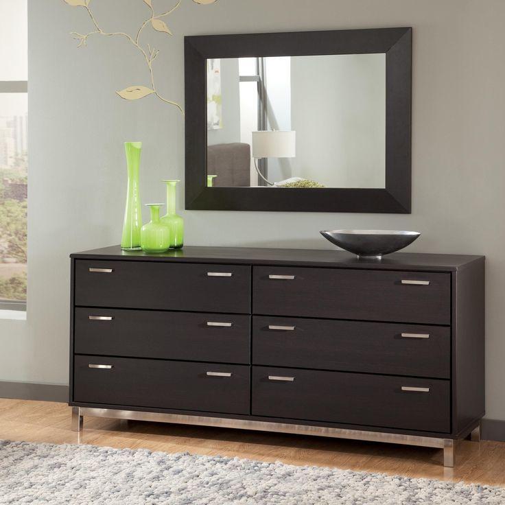 Schwarze Schlafzimmermobel Dresser With Mirror Modern Bedroom