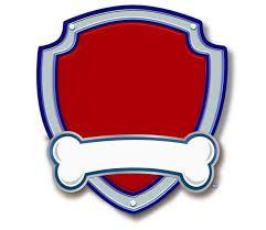 paw patrol badge templates