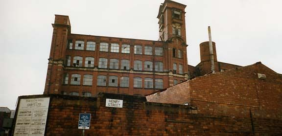 old Manchester mill
