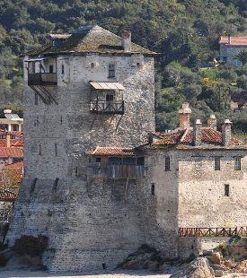 Prosforiou Tower Ouranoupoli, Halkidiki, Greece