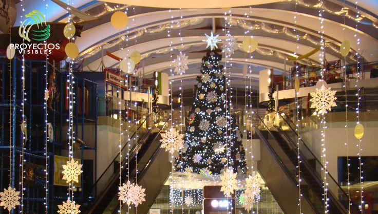 Rboles de navidad para centros comerciales dise o suministro iluminaci n y decoraci n - Luces arbol de navidad ...