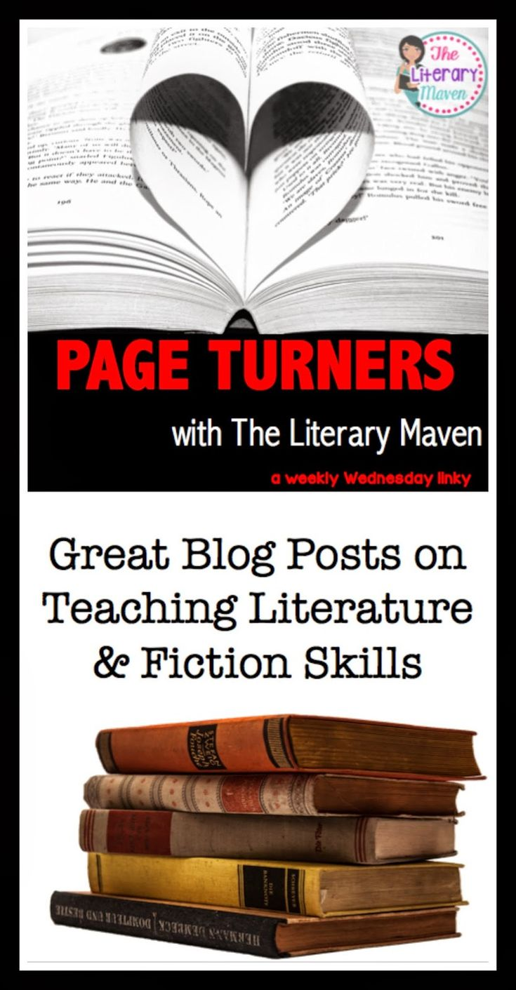 Page Turners: Teaching Literature & Fiction Skills. Get some fresh ideas for teaching point of view, perspective, parody, allusions, symbolism, and more.