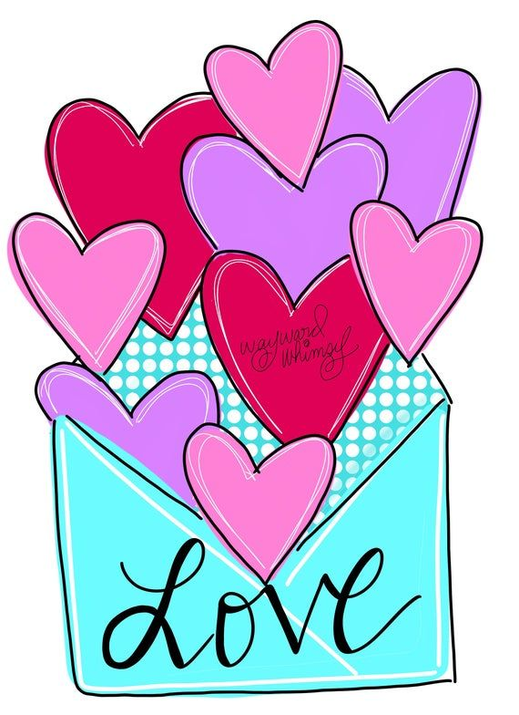 XO Valentine Door Hanger downloadable file printable template