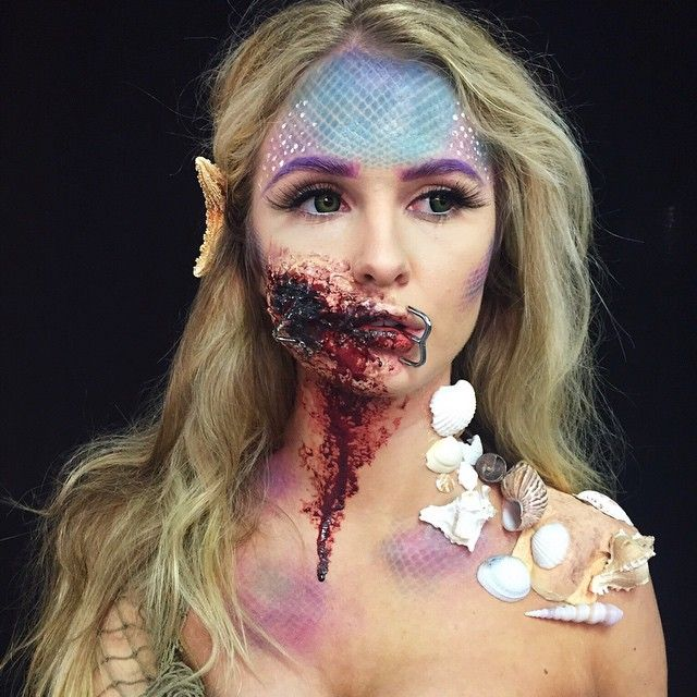 ⠀⠀⠀⠀⠀⠀⠀⠀⠀⠀⠀⠀⠀⠀⠀Hailee Clark @makeupbyhailee Hooked mermaid in...Instagram photo   Websta (Webstagram)