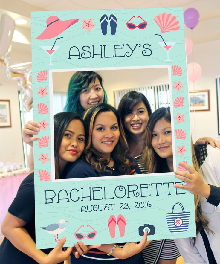 Bachelorette Party Ideas https://www.etsy.com/listing/454341206/beach-photo-prop-digital-file