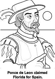 Ponce de León : Florida's First Spanish Explorer
