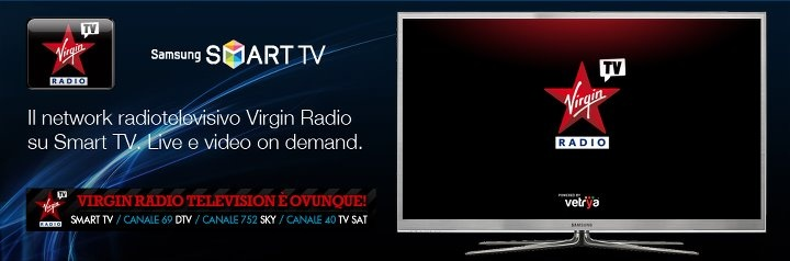 vetrya :: Radio105 su smart tv Samsung