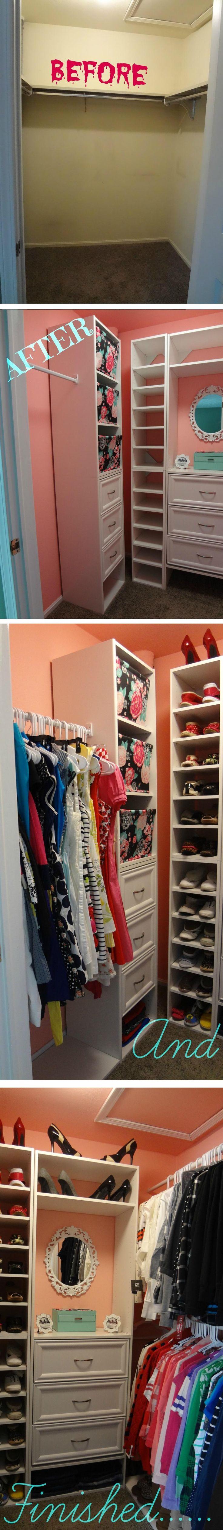 Organizing A Closet, Girly Closet