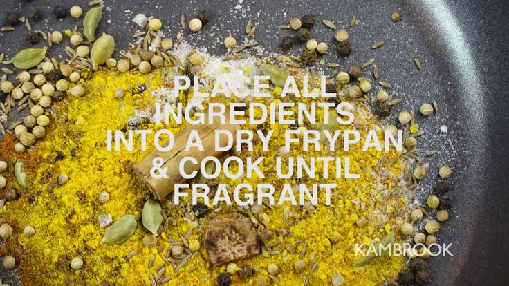 Moroccan Spice Mix made easy.