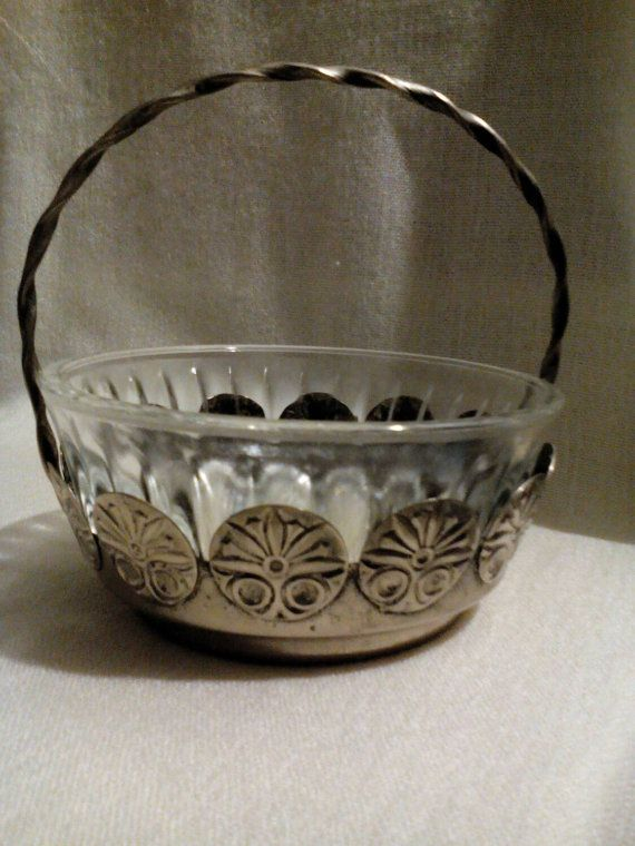 Vase Bowl Candy Melchior Tableware Glass Vintage by LucyMarket