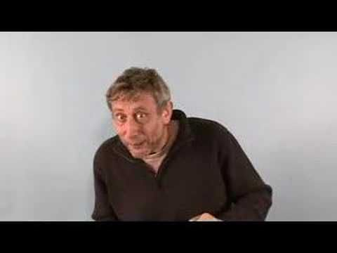 Michael Rosen (the author) reading and acting out the story