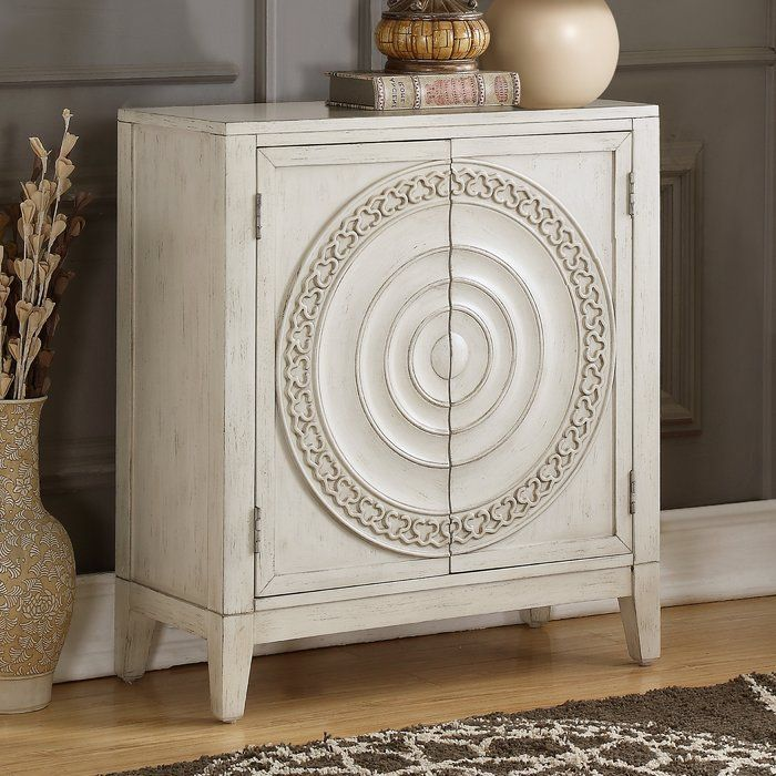 Burleigh Traditional Carved Distressed Ornate 2 Doors Accent Chest Accent Doors Accent Chests And Cabinets Flipping Furniture Accent chest with doors