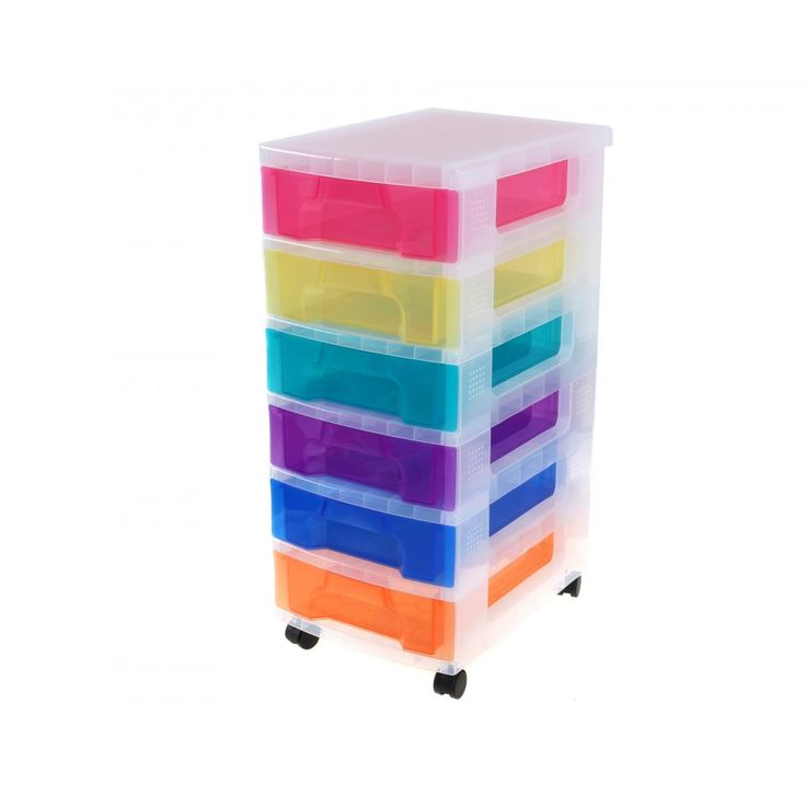really useful drawer storage unit 6x7 litre plastic boxes storage boxes