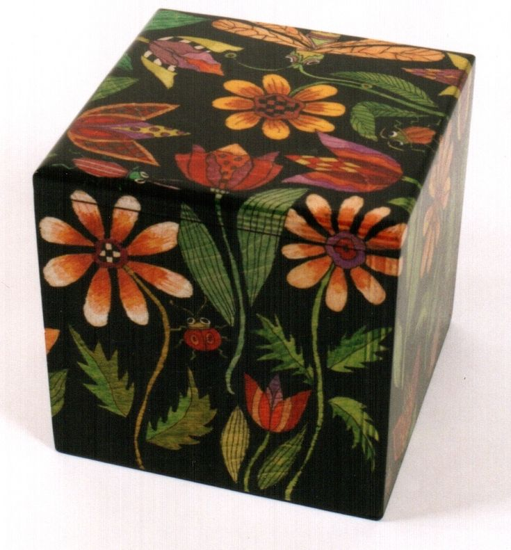 Helen Heins Peterson Painted Box