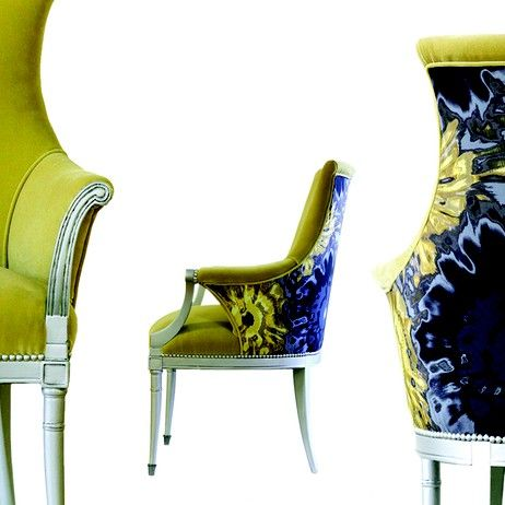 Oui!!! Je t'aime Wild Chairy Girasole Chair @wildchairy @Architectural Digest Home Design Show
