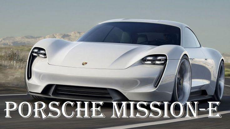 PORSCHE Mission E Concept Future Sports Car Review - Interior - Specs Re...