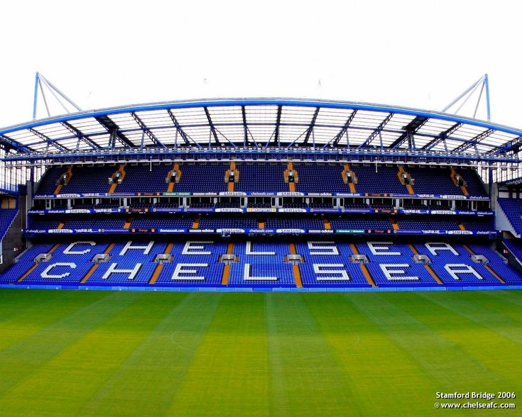 Stamford Bridge, Home of Chelsea FC.