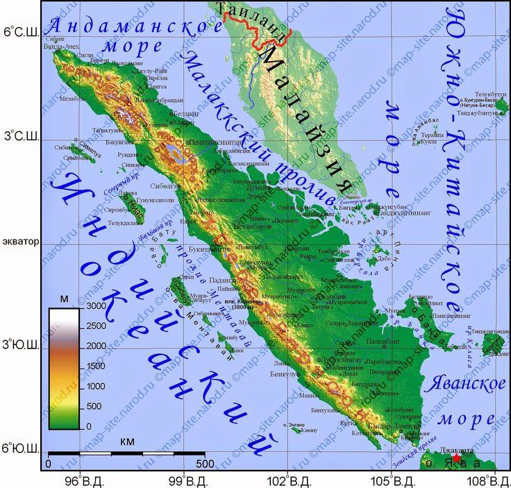Мощное землетрясение у берегов Суматры