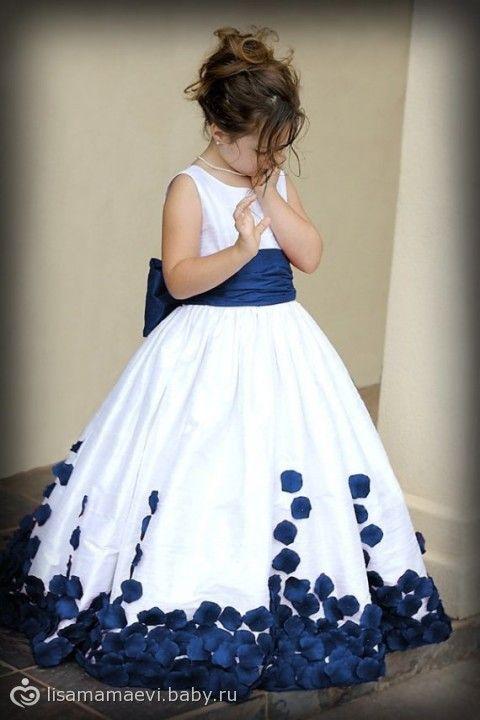 Платье на годик., выкройка детского платья с пышной юбкой - на бэби.ру