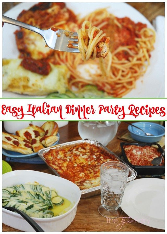Italian Dinner Party Menu Ideas Part - 16: Italian Menu Ideas For Dinner Party Part - 42: Check Out These Easy Italian  Dinner