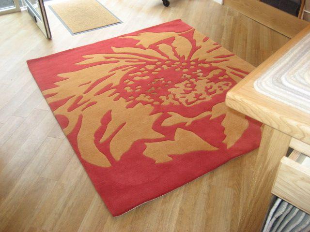 Porter's showroom rug