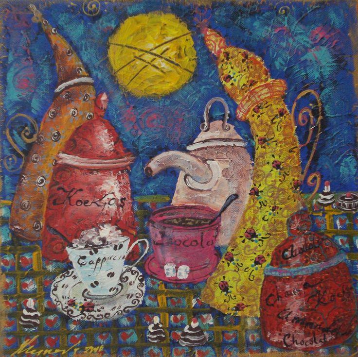 SOLD,Schilderijen van Tatyana Murova www.artterra.com
