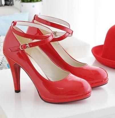 Обувь женская на высоком каблуке больших размеров