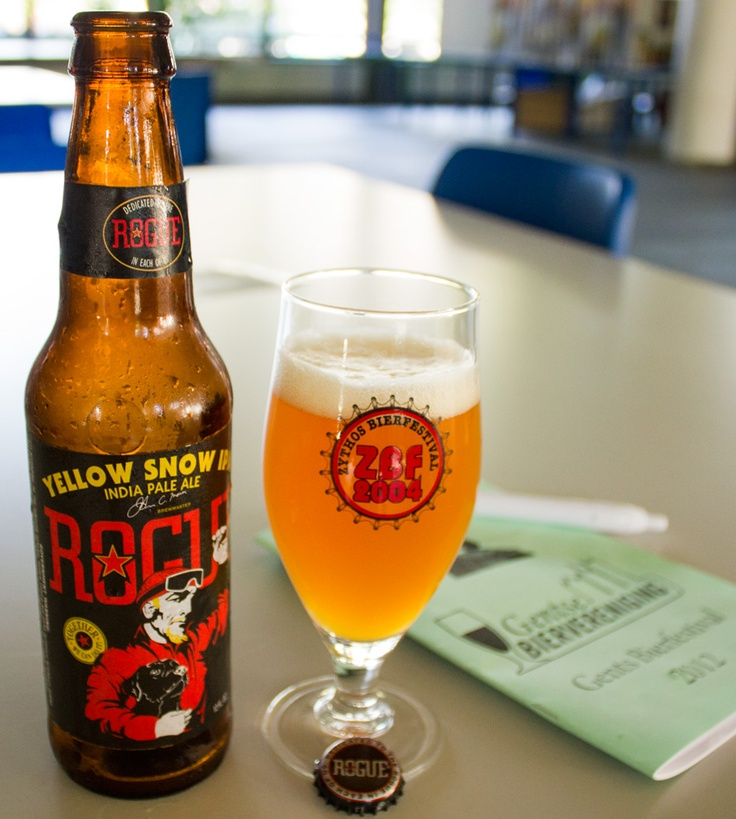 Rogue Yellow Snow IPA - A.B.D.  http://beerader.com/2012/08/23/gent_bira_festivali_2012/
