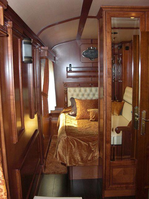 El Transcantabrico Gran Lujo - looking into suite double bedroom | Flickr - Photo Sharing!