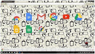 Black and White Google Chrome theme