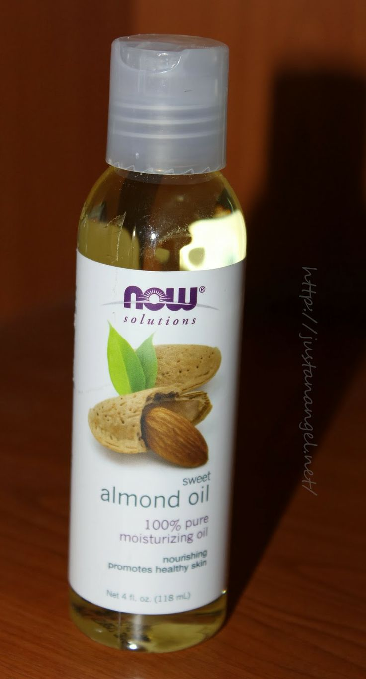 Now solutions-Almond oil