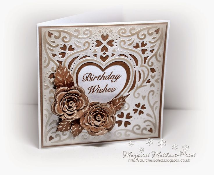dutchess: crafters companion card creator....Romance...this one I have mounted onto contrasting card......