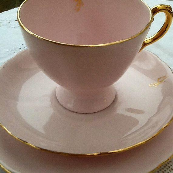 Toscana porcellana bone china inglese tea set di Mercysemporium