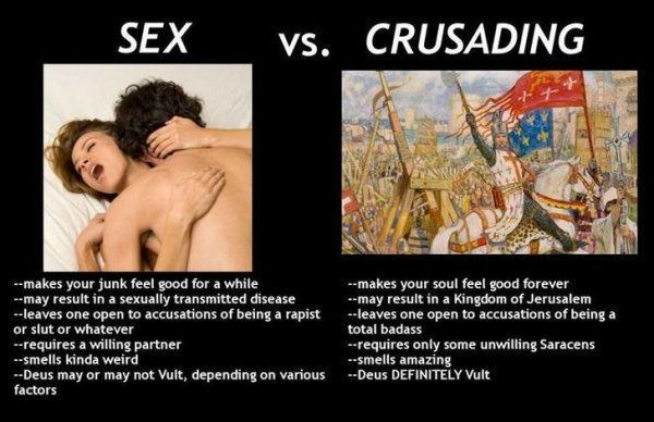 16 Crusades Memes Cuz Nothing is More Relatable Than the Crusades #funnypic.twitter.com/vGJzb8Pqvy http://ibeebz.com