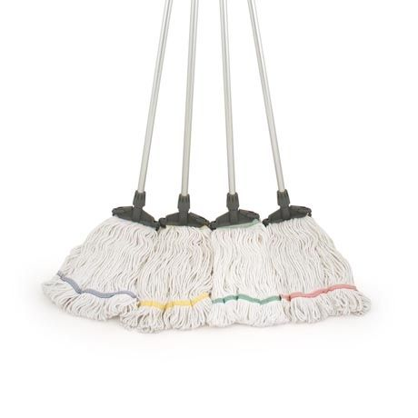 Bleached Cotton Kentucky Mop. http://www.bentleybrushware.co.uk/products/industrial/hygiene-range/hygiene-mops-squeegees/bleached-cotton-kentucky-mop