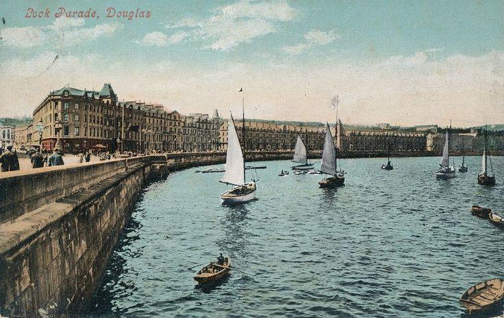 Isle of Man, Douglas, postcard
