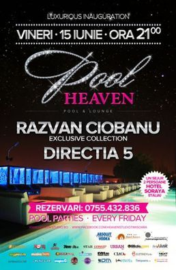 Directia 5 la inaugurarea Heaven Pool & Lounge Timisoara
