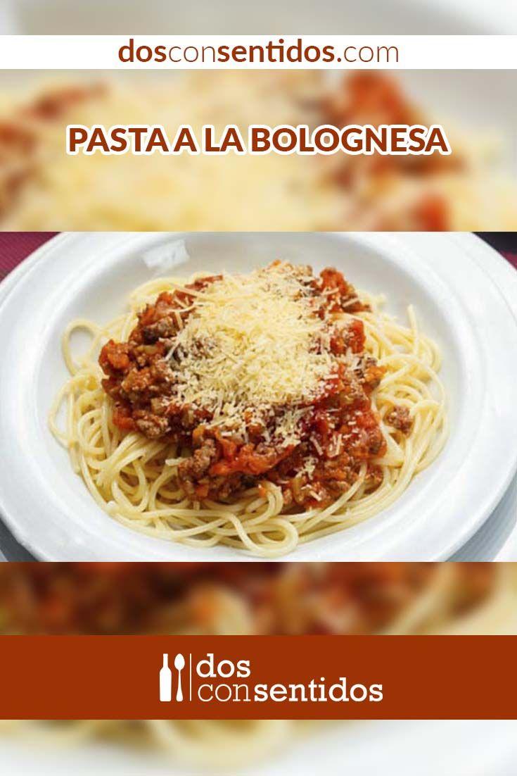 La salsa bolognesa o bolognese es una salsa proveniente de la ciudad de Bologna, en Italia, y suele acompañar pastas, polenta o como relleno para la lasagna. Se hace a partir de carne molida de ternera, buey, cerdo, o la combinación de estas, y un picadillo de cebolla, apio y zanahoria, conocido como mire poix. En Bologna se le conoce como ragú, que hace referencia a la preparación de cocinar carnes en sus propios jugos por un largo tiempo.