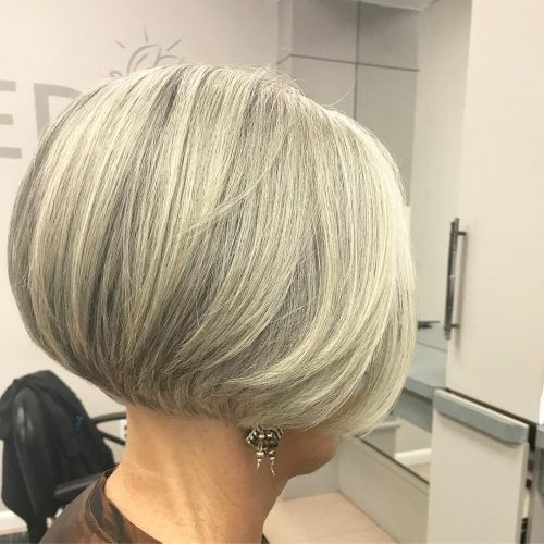 26 Youthful Brief Hairstyles for Girls Over 60 in 2019