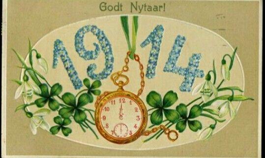 Nyttårskort 1914