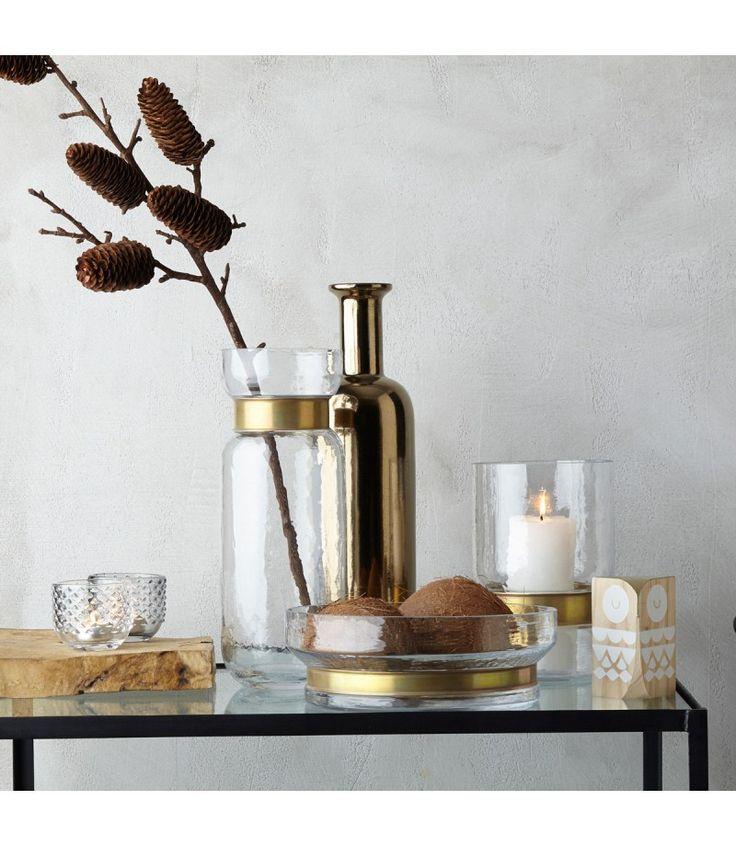 Vasen, Schalen, Windlichter #Kupfertöne zur #Herbstdeko