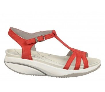Buy cheap shoes online from mbt shop in Australia. Get offer on Women's  Sadiki Crimson. Patent LeatherLeather SandalsRedCheap ...