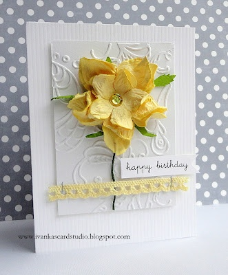 Ivanka's Card Studio - love this design for an Easter Card
