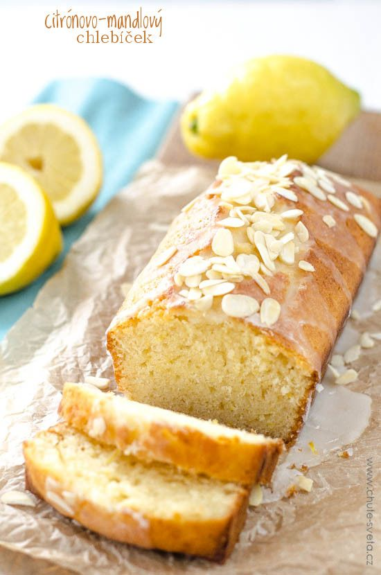 citrónovo-mandlový chlebíček